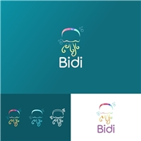 Bidi Jellyfish, Logo, Crianças & Infantil
