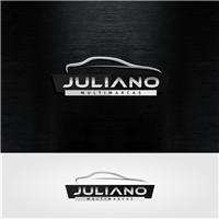 juliano multimarcas, Logo e Cartao de Visita, Automotivo