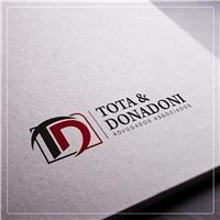 Tota & Donadoni Advogados Associados, Logo e Cartao de Visita, Advocacia e Direito