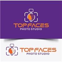 Top Faces Photo Studio, Logo, Fotografia