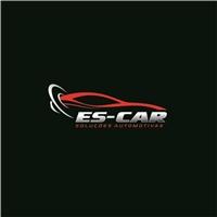 ES-CAR SOLUÇÕES AUTOMOTIVAS, Logo, Automotivo