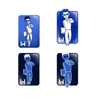 Walk to Corp  ou reduzindo na URL - walktocorp, Folheto ou Cartaz (sem dobra), Educação & Cursos