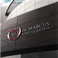 Dr Marcus Vinícius Batista, Logo e Cartao de Visita, Saúde & Nutrição
