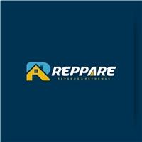 REPPARE, Logo e Cartao de Visita, Construção & Engenharia