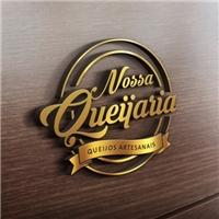 NOSSA QUEIJARIA, Logo e Cartao de Visita, Alimentos & Bebidas
