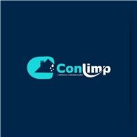 CONLIMP, Logo e Cartao de Visita, Limpeza & Serviço para o lar