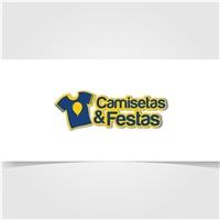 Camisetas & Festas, Logo, Roupas, Jóias & acessórios