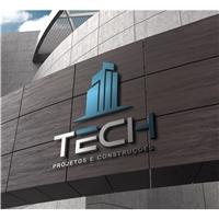 Tech Projetos e Construções , Logo, Construção & Engenharia