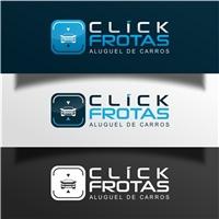 Click Frotas - aluguel de carros, Logo e Cartao de Visita, Automotivo