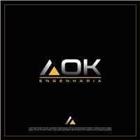 AOK Engenharia, Logo, Construção & Engenharia