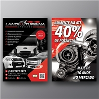 Landi Turbina UPgrade, Cartao de Visita, Automotivo