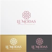 Le Modas , Logo e Cartao de Visita, Roupas, Jóias & acessórios