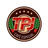 TPJ Café Especial, Logo e Cartao de Visita, Alimentos & Bebidas