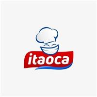 industria de produtos alimentícios produto ITAOCA (MASSA TAPIOCA), Logo e Cartao de Visita, Alimentos & Bebidas