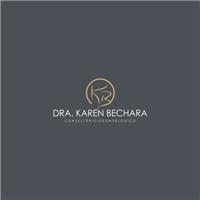 Consultório Dra. Karen Bechara, Logo e Cartao de Visita, Saúde & Nutrição