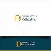 Djonatan Borchardt, Logo e Cartao de Visita, Construção & Engenharia
