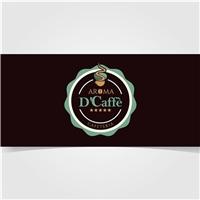 Aroma D'Caffè , Logo e Cartao de Visita, Alimentos & Bebidas