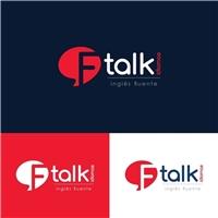 Ftalk Idiomas -inglês fluente, Logo e Cartao de Visita, Educação & Cursos