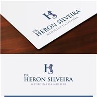 Dr. Heron Silveira, Logo e Cartao de Visita, Saúde & Nutrição