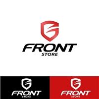 Front Store, Logo, Computador & Internet
