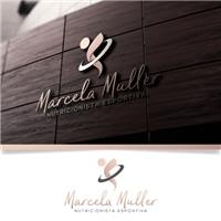 MARCELA MULLER, Logo e Cartao de Visita, Saúde & Nutrição