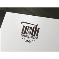 UNIK GUSSULLIBEER, Logo, Alimentos & Bebidas
