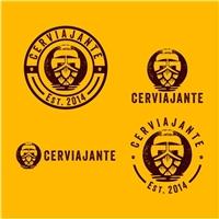 Cerviajante , Logo e Cartao de Visita, Viagens & Lazer