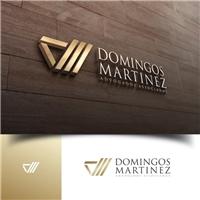 DOMINGOS MARTINEZ ADVOGADOS ASSOCIADOS, Logo e Cartao de Visita, Advocacia e Direito