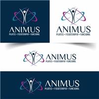 Animus, Logo e Cartao de Visita, Saúde & Nutrição