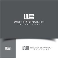 Walter Benvindo Interiores, Logo e Cartao de Visita, Arquitetura