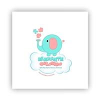 Elefante Colorido - Brinquedos Educativos, Logo, Crianças & Infantil