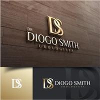 Dr. Diogo Smith Urologista, Logo e Cartao de Visita, Saúde & Nutrição