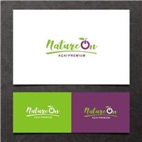NatureON, Logo e Cartao de Visita, Alimentos & Bebidas