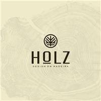HOLZ - DESIGN EM MADEIRA, Logo e Cartao de Visita, Decoração & Mobília