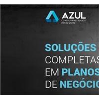 AZUL CONSULTORIAS E PLANOS DE NEGÓCIOS LTDA, Logo em 3D, Consultoria de Negócios