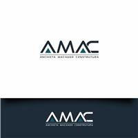 AMAC Anchieta Machado Construtura, Logo e Cartao de Visita, Construção & Engenharia