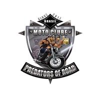 PREDATORS OF ROAD MOTO CLUBE, Logo e Cartao de Visita, Associações, ONGs ou Comunidades