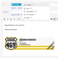 GARAGE469, Layout Web-Design, Automotivo
