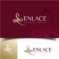 Enlace, Logo e Cartao de Visita, Roupas, Jóias & acessórios