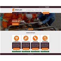 Enflex Engenharia, Cartão de visita, Construção & Engenharia