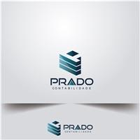 PRADO CONTABILIDADE , Logo e Cartao de Visita, Contabilidade & Finanças