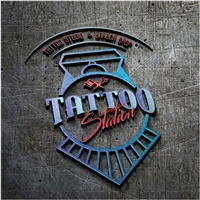 Tattoo Station , Logo e Cartao de Visita, Artes, Música & Entretenimento