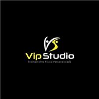 Vip Studio -Treinamento Físico Personalizado, Logo, Saúde & Nutrição