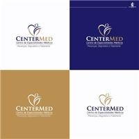 CenterMed - Centro de Especialidades Médicas, Logo e Cartao de Visita, Saúde & Nutrição