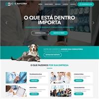 CHC Imagem - Diagnóstico por imagem e consultoria veterinária, Logo em 3D, Animais