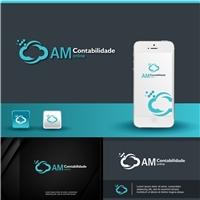 AM CONTABILIDADE online, Logo e Cartao de Visita, Contabilidade & Finanças