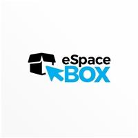 eSpaceBox, Logo e Cartao de Visita, Logística, Entrega & Armazenamento