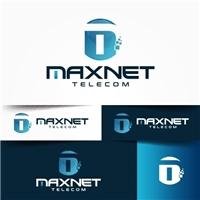 MAXNET, Logo e Cartao de Visita, Computador & Internet