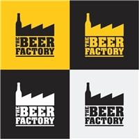The Beer Factory, Logo, Alimentos & Bebidas