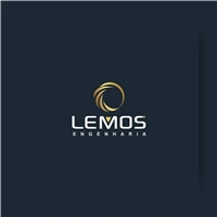 LEMOS ENGENHARIA, Logo e Cartao de Visita, Construção & Engenharia